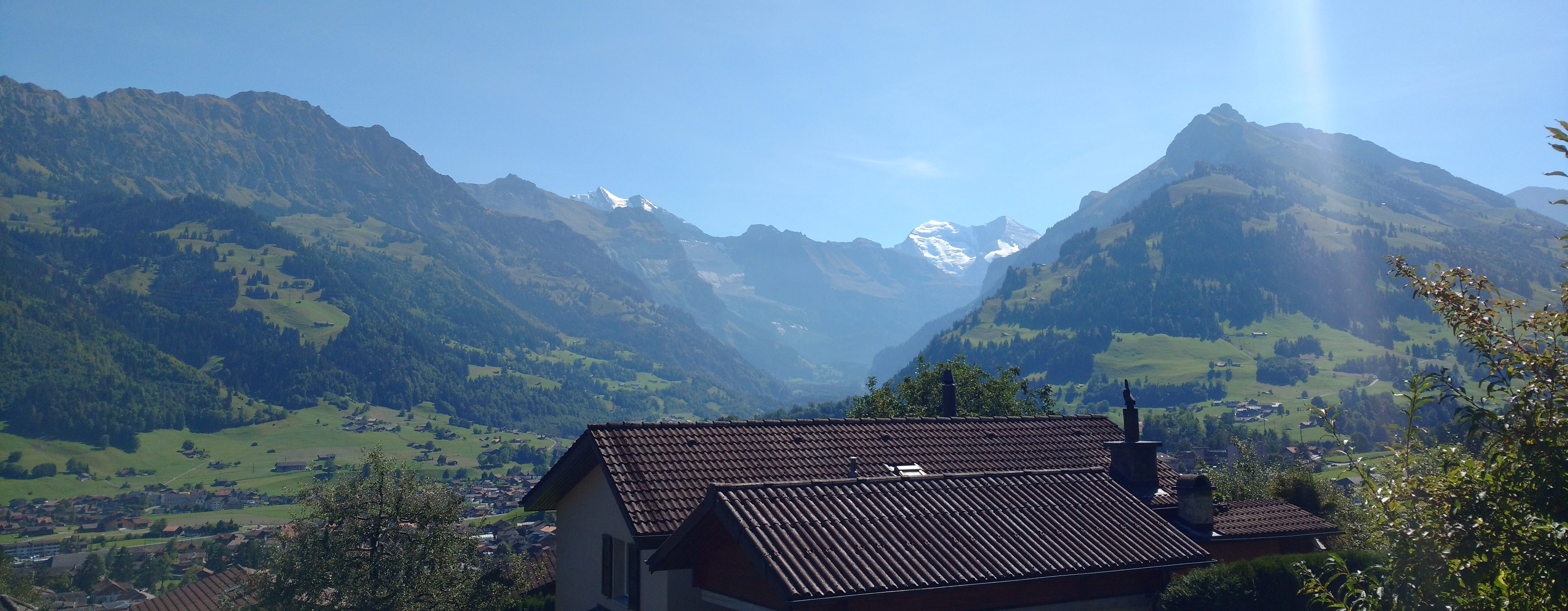 switzerland with an infant