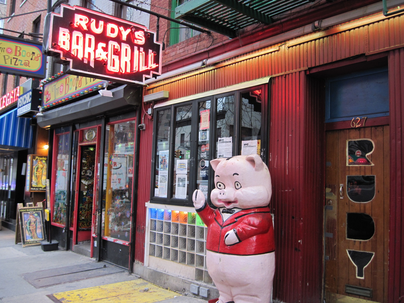 Rudys bar in New York City