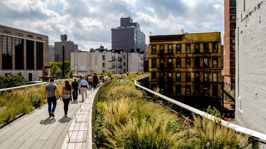The high line New York City