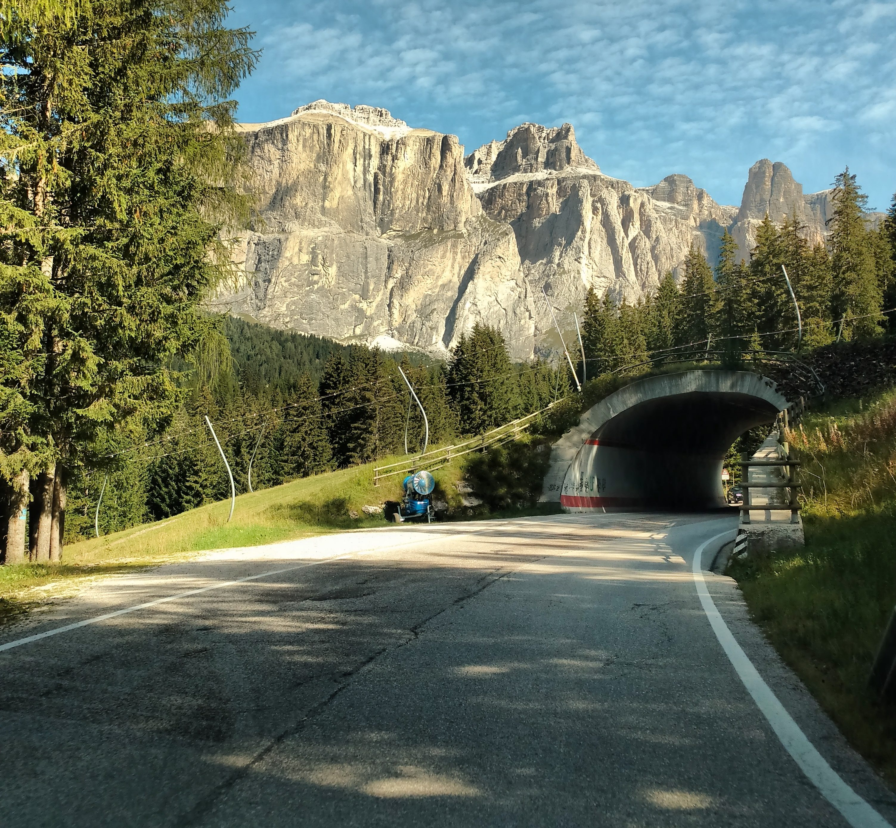 Driving the dolomite