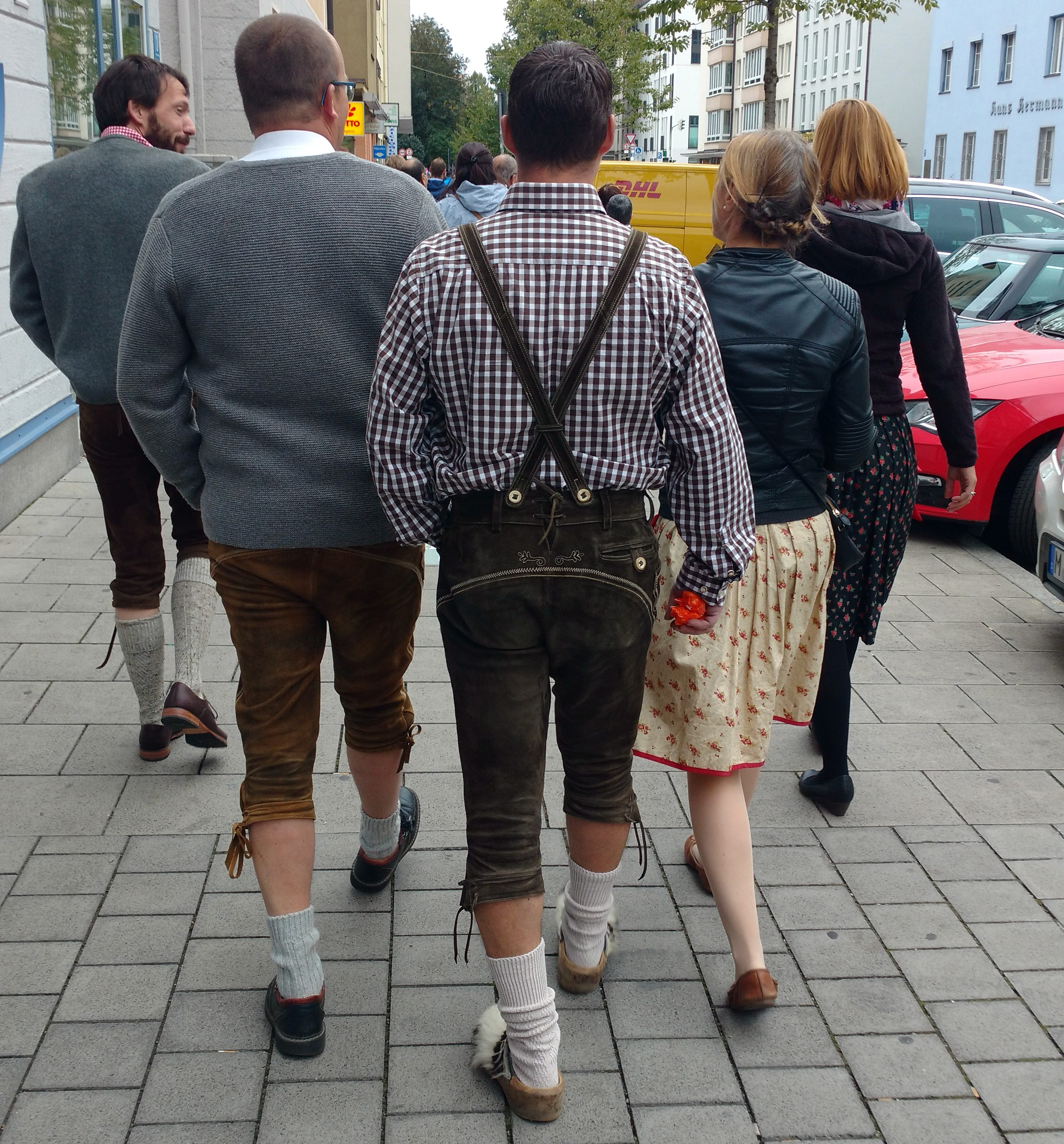Germany with a family