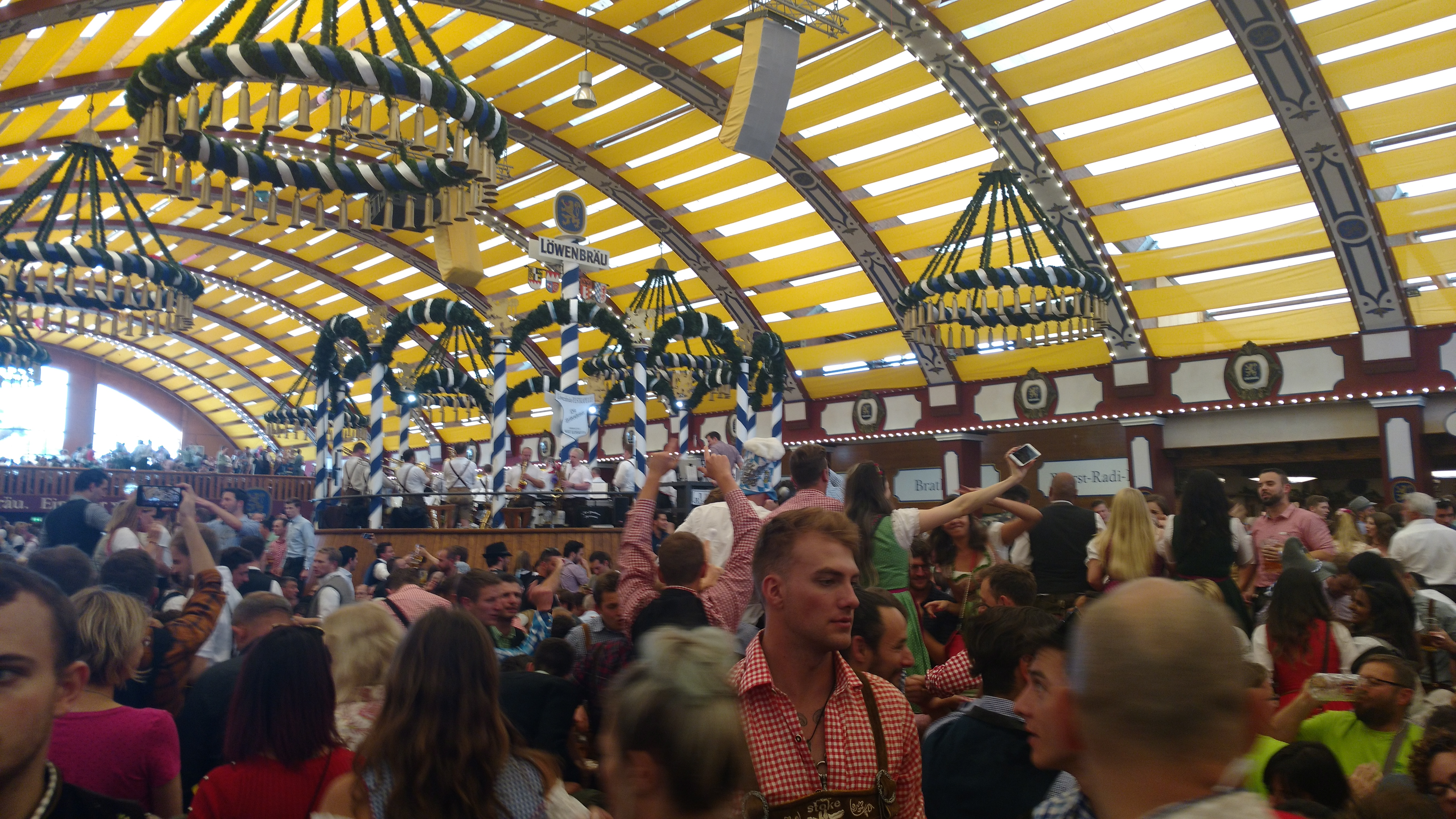Visiting Oktoberfest with a baby